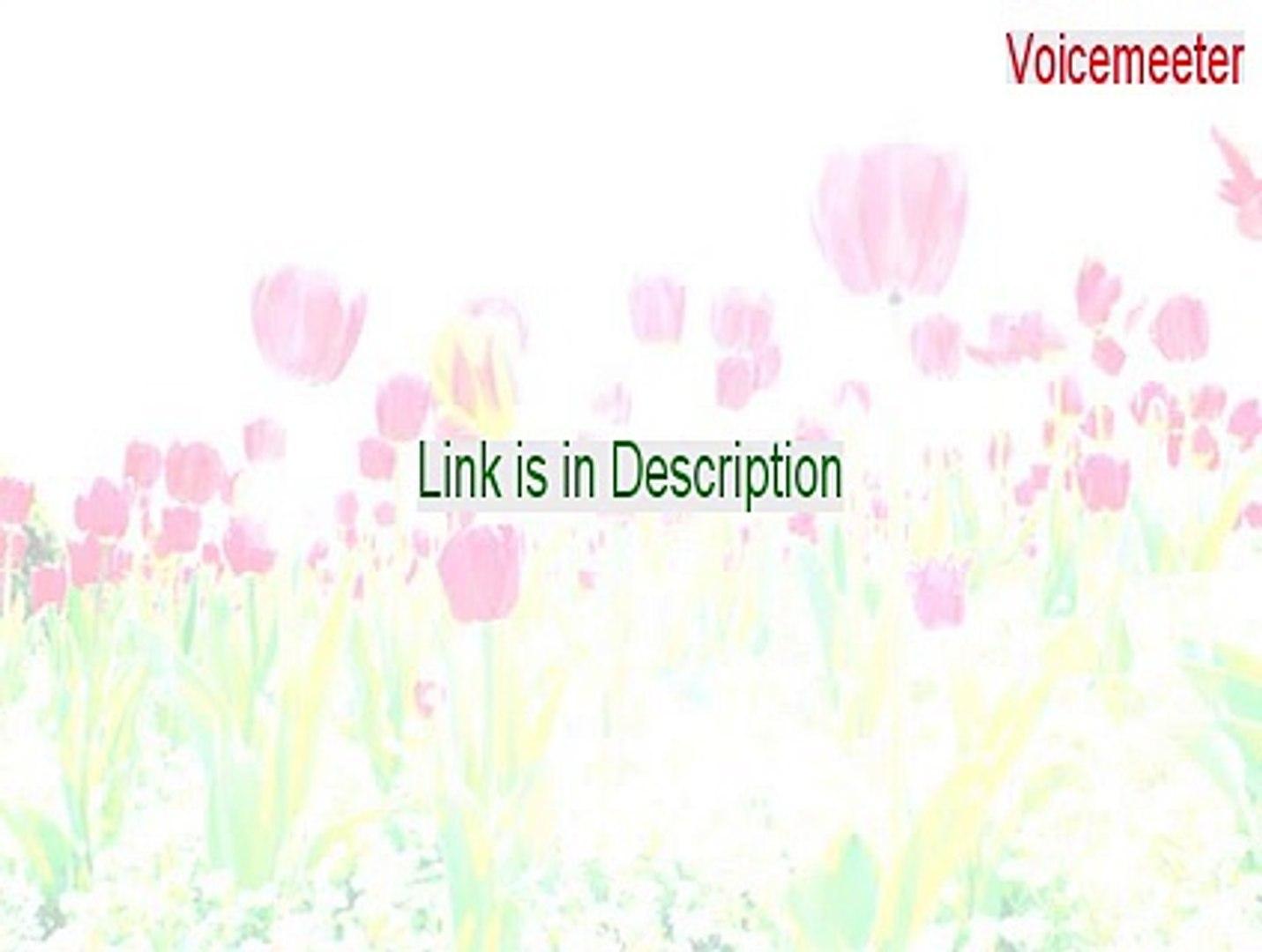 Voicemeeter Keygen (voicemeeter obs)