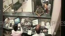 Unique bank robbery in Karachi, A Single Clumsy Robber cleared the Bank.