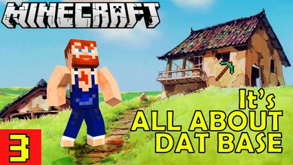 It's All About That Base! Nik Nikam's EPIC Minecraft Modded Survival Ep 3