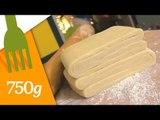 Recette de la Pâte feuilletée inversée - 750 Grammes