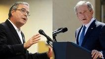 Late-night laughs: Jeb Bush vs. George W. Bush