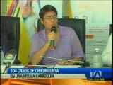Salud confirma 104 casos de Chikungunya en parroquia de Esmeraldas