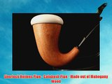 Meerschaum Pipe - CALABASH - Sherlock Holmes Pipe - Hand Made from the African Mahogany Wood