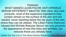 Anti Wrinkle Reducing Serum - By Lilian Fache - Anti Aging Serum - Wrinkle Reducer - Skin Rejuvenation for Preventing and Reducing Fine Lines and Wrinkles - Black Diamond Dust Infused - Beauty Skin Care Product - Collagen Restoring - Try This One of a Kin