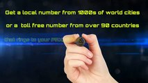 How to get International Phone Numbers for Local and Toll Free Numbers