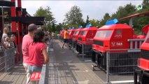 Les pompiers de Legoland au Danemark - Falck Fire Station, Legoland Denmark
