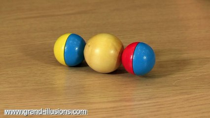 Unusual Spinning Ball Top