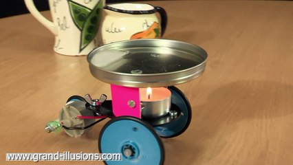 Candle Car - Runs by Thermoelectric Effect