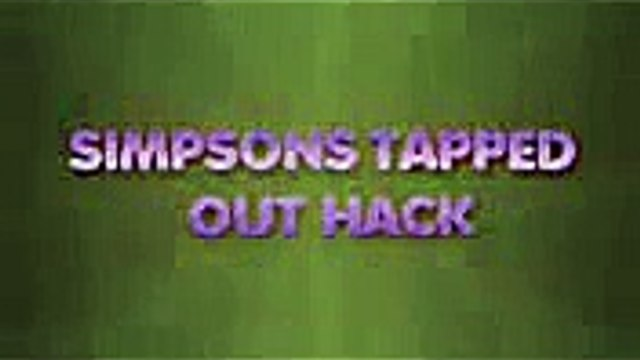 simpsons tapped out hack simpsons tapped out cheats hacks download
