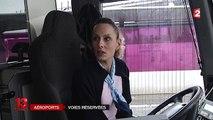 Aéroports parisiens : des voies express pour les taxis et les bus