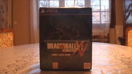 Dragon Ball Xenoverse : Trunks' Travel Edition (Video Unboxing PS4)