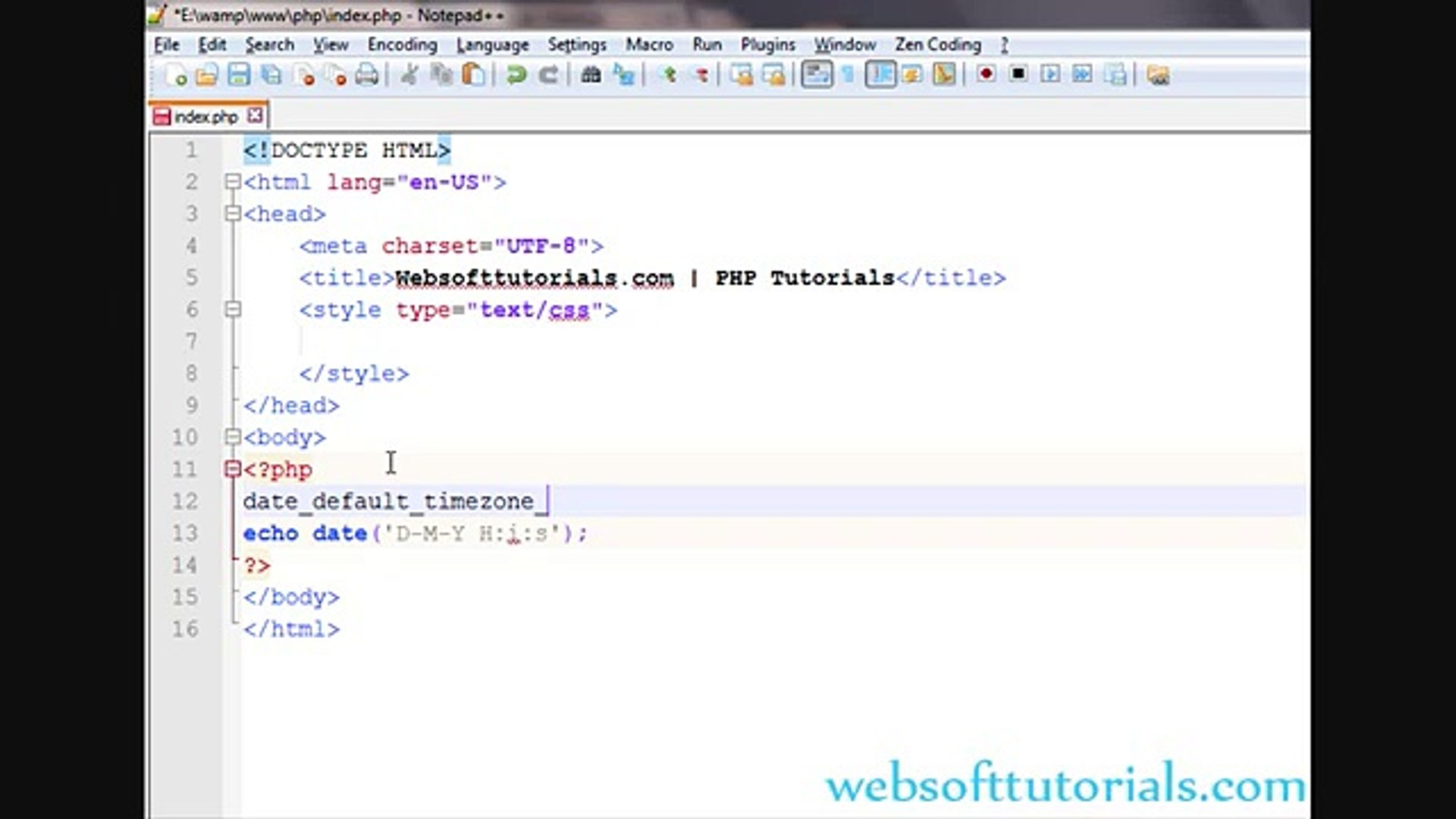 PHP tutorials in urdu - hindi - 38 - work with date and time in php