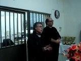 Κοπή της πίτας του Σκακιστικού 'Ομιλου  Αιγάλεω στις 28-2-2015. Χαιρετισμός του Κώστα Χατζηκώστα.