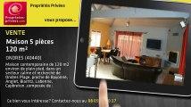 A vendre - maison - ONDRES (40440) - 5 pièces - 120m²