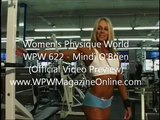 MINDI O'BRIEN - TRAINING AND POSING - Female Bodybuilding Muscle Fitness