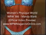 MANDY BLANK - POSING - Female Bodybuilding Muscle Fitness