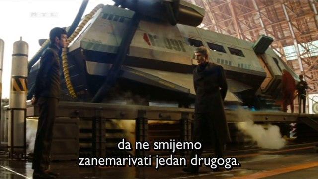 Leonard Nimoy (Spock Prime) & Zachary Quinto (Spock) - Star Trek (2009) [hrv, Full HD]