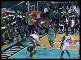 Shaquille O'Neal monster dunk over Robinson in 96 All Star Game