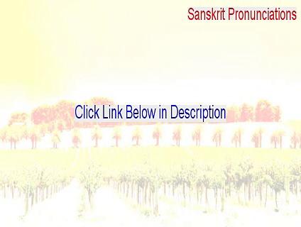 Sanskrit Pronunciations Serial [sanskrit mantra pronunciations 2015]