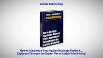 Article Marketing - Quick & Easy Guide with Unrestricted Private Label Rights!