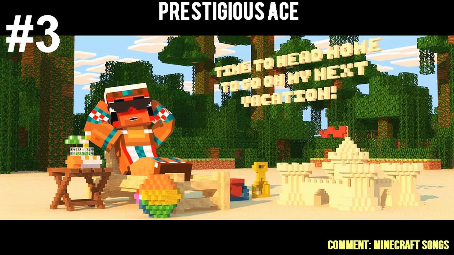 Top 5 Minecraft Song - February 2015 Best Minecraft Songs Animations Parody Parodies 2015