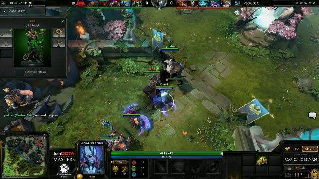 HellRaisers vs Vega Game 2 - joinDOTA Masters @TobiwanDota @DotaCapitalist
