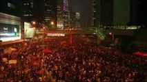 Chan Kin-man 'CY Leung can't continue to rule Hong Kong' - BBC New