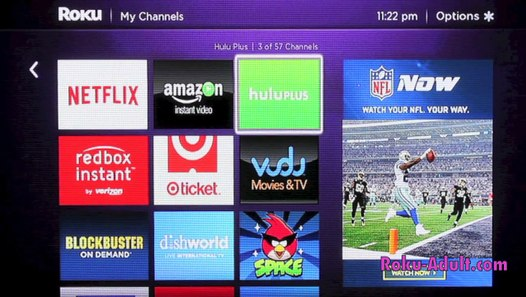 How to get adult channels on roku