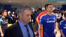 Chelsea Tottenham Tunnel Cam - carling cup final