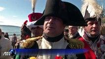 Napoléon: bicentenaire du département à Golfe-Juan