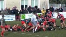 Rugby F 3 : Auxerre chute devant une bonne équipe de Bourges