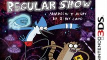 Regular Show Mordecai and Rigby in 8Bit Land Gameplay (Nintendo 3DS) [60 FPS] [1080p] Top Screen
