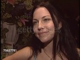 Amy Lee of Evanescence at the BMI Pop Awards - Clip 1 (11 May 2004)