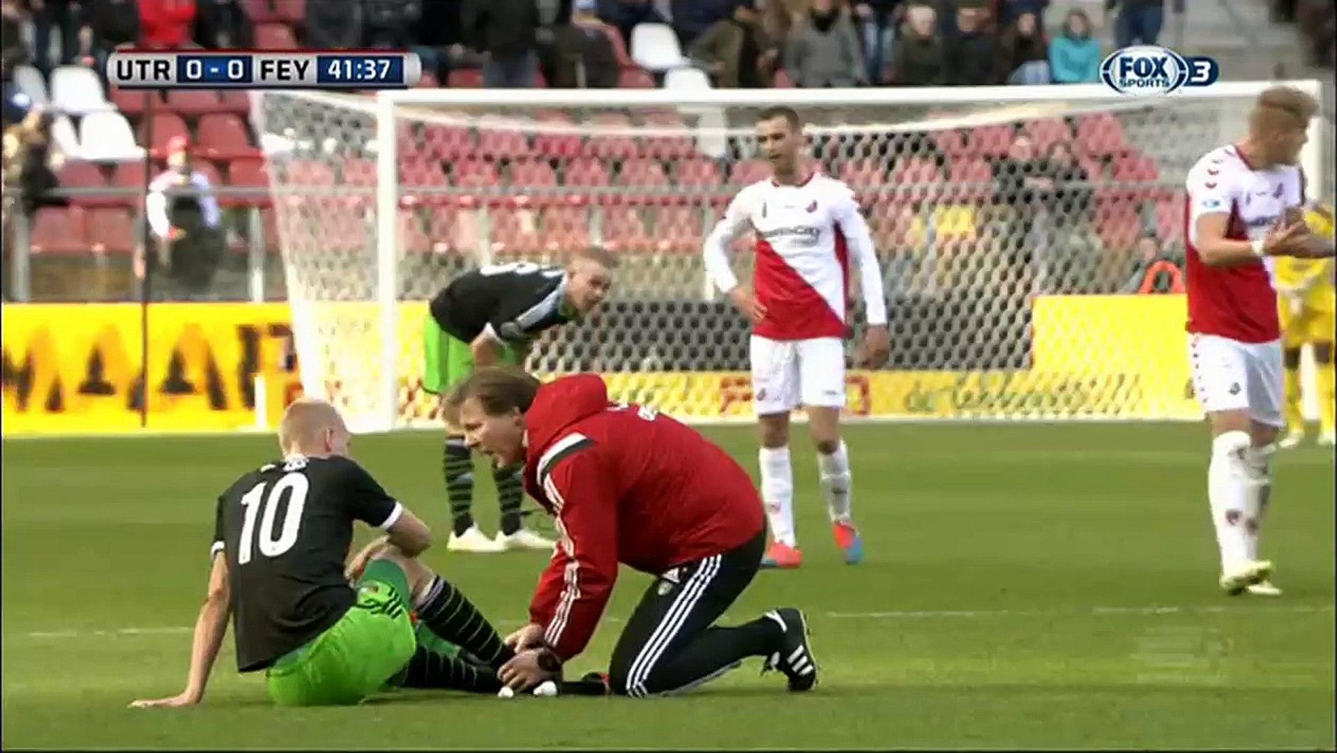 01 03 2015 Fc Utrecht Feyenoord Volledige Wedstrijd Video Dailymotion