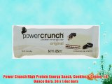 Power Crunch High Protein Energy Snack Cookies & Creme 1.4-Ounce Bars 36 x 1.4oz bars