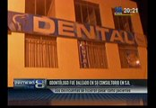 SJL: dentista fue asesinado a balazos dentro de su consultorio