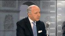 """Laurent Fabius juge """"absurde"""" le déplacement des parlementaires en Syrie"""