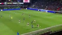 Le gardien Johann Carrasso marque de la tête contre son camp | FC Metz - Evian TG