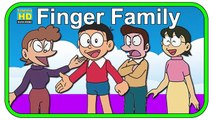 Finger Family Nursery Rhyme with Doraemon Family Cartoons - Nursery Rhymes
