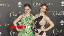 Cinderella World Premiere: Sophie McShera and Holliday Grainger Red Carpet