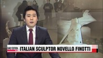 Italian sculptor Novello Ninotti brings his eye-opening works to Korea