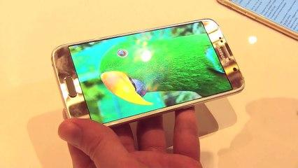 MWC 2015 : Galaxy S6, l'iPhone 6 version Samsung en vidéo