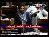 Sindh Assembly Mey Andron Sindh Waaro Lafz Ista'mal Karan Tey Members Jey Wich Mey Sakht Jumlan Ji Dey Wath Thi.