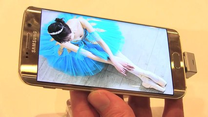MWC 2015 : Galaxy S6 Edge, un air d'iPhone 6 sur les bords