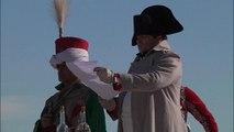 Reconstitution historique du retour de Napoléon sur la plage de Golfe-Juan