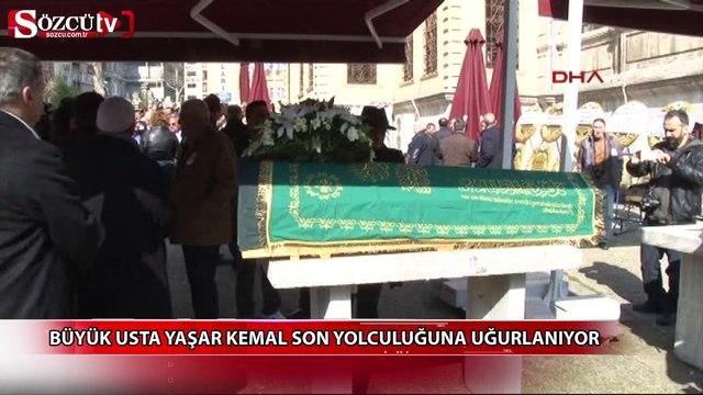 Büyük usta Yaşar Kemal son yolculuğuna uğurlanıyor