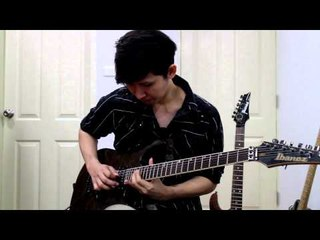 Ibanez guitar solo competition 2013 - Suchat Boontabtong