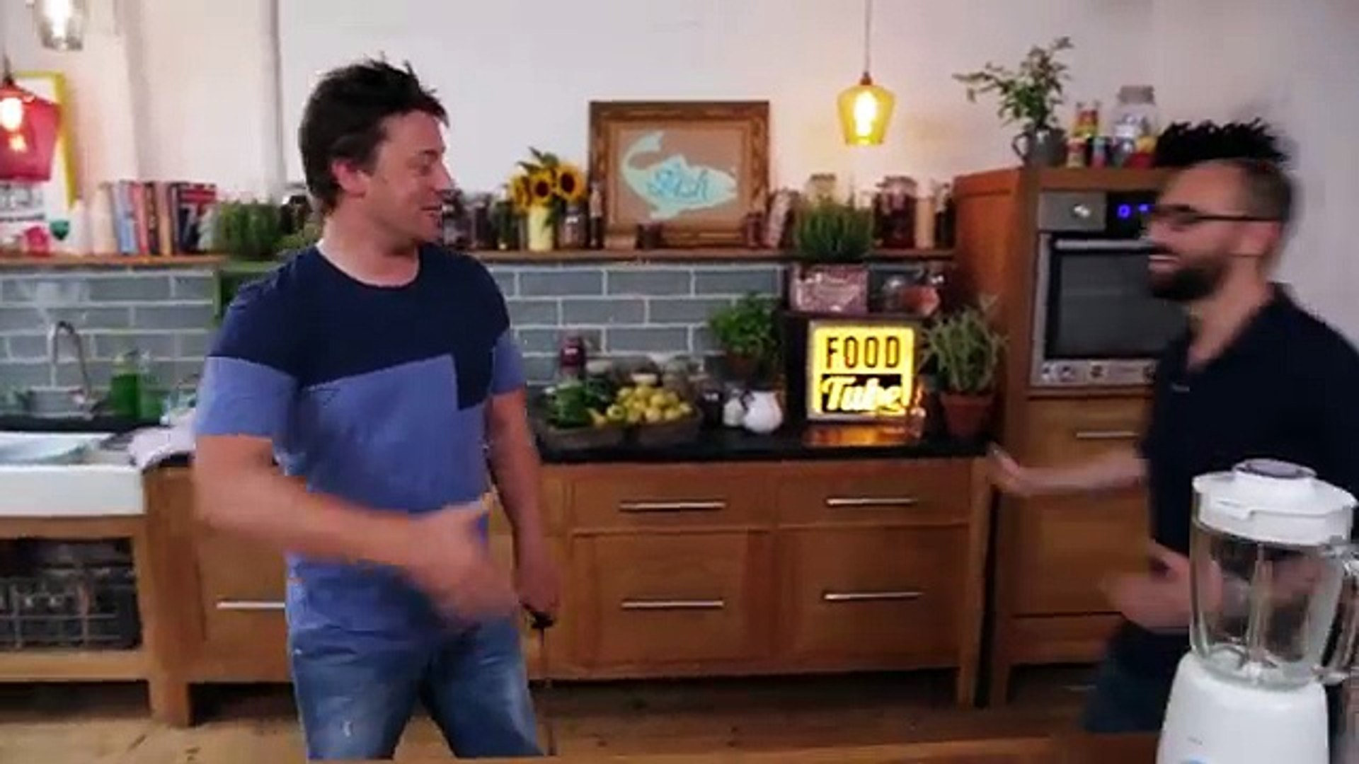VSauce Sauce  Jamie Oliver  Michael Stevens