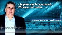 Barton, Baup, Deschamps, Ocampos... Pierre Ménès se confie sur l'OM !