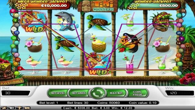 Tiki Wonders™ par NetEnt   Machines à sous en ligne Gratuites   MachinesAsousX.com